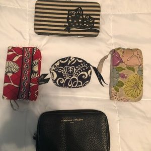 Mixed wallets and change bags